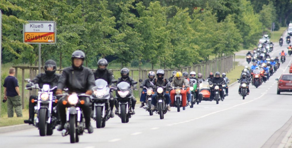Mecklenburger MZ-Treffen Güstrow